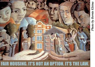 Fair Housing, It's Not An Option. It's the Law